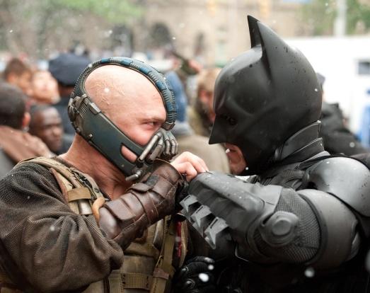 Bane Batman The Dark Knight Rises
