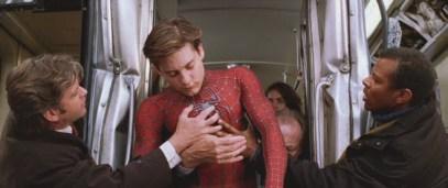 Tobey Maguire Spider-man train