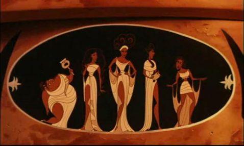 Hercules Disney movie Muses