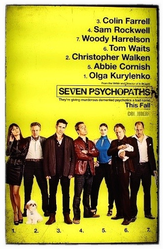 seven psychopaths 2012
