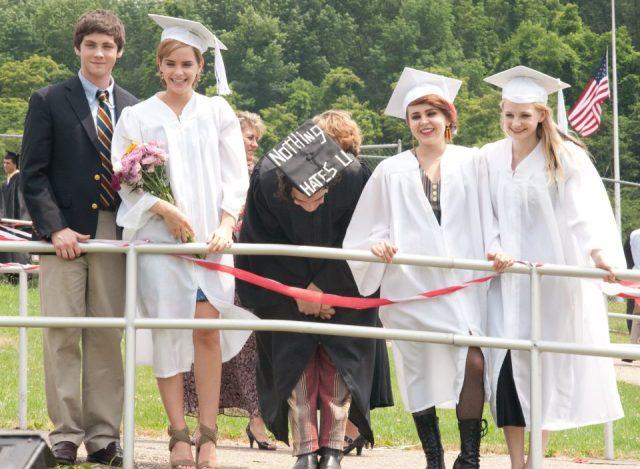 Perks of being a wallflower graduation scene