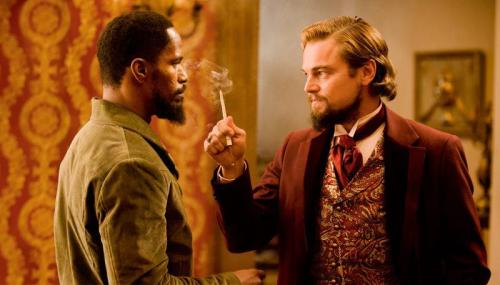 Dicaprio and Foxx Django Unchained