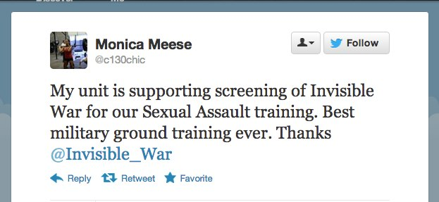 Twitter Response to Invisible War