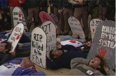 how to survive a plague political protest