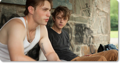 Emory Cohen and Dane Daahan
