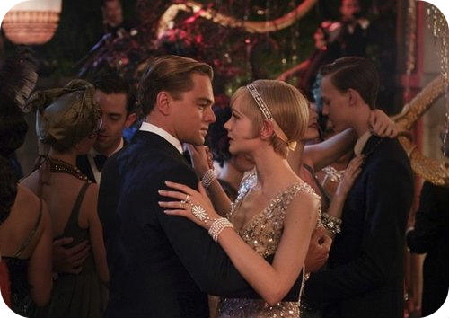 Dicaprio and Mulligan in Gatsby