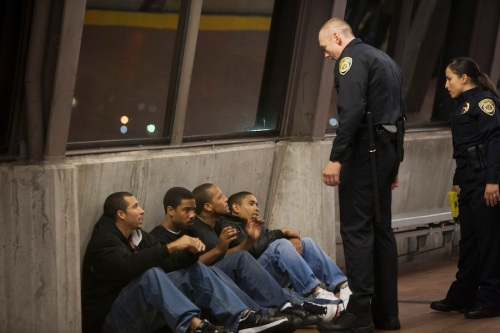 FRUITVALE Station scene