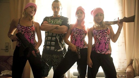 Spring Breakers Girls and Franco