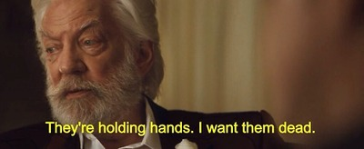 Hunger Games Catching Fire President Snow Quote