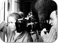 Liv Ullman and Ingmar Bergman