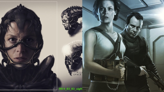 Neill Blomkamp Alien Art