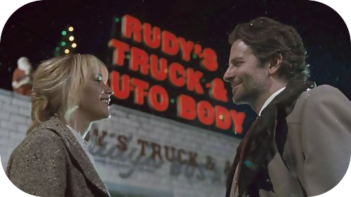 jennifer lawrence and bradley cooper in joy