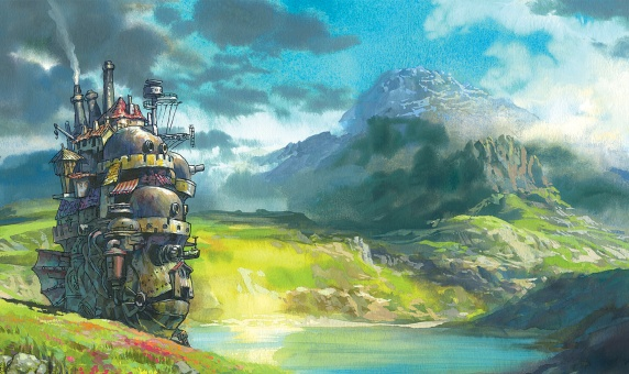 Howls Moving Castle Art