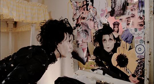 Edward Scissorhands Mirror Scene