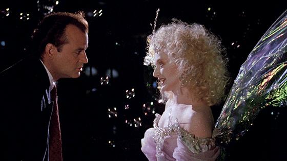 Carol Kane in Scrooged
