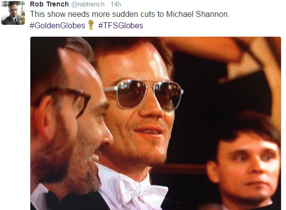 Michael Shannon Golden Globes