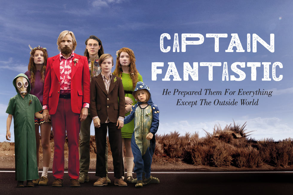 Captain Fantastic cast