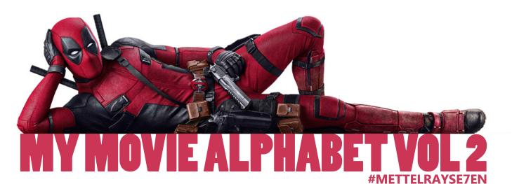 My Movie Alphabet