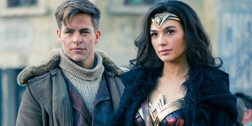 Wonder Woman and Steve