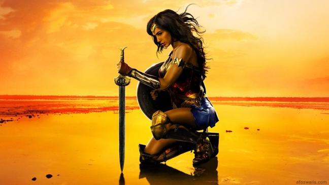 Wonder Woman 2017 poster