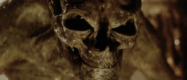 Newborn alien in alien resurrection